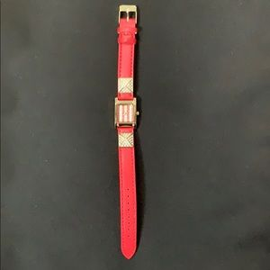 Red Charming Charlie's Watch